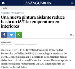 20200208 - GCover - La Vanguardia