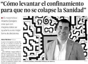 Entrevista en el Faro de Melilla